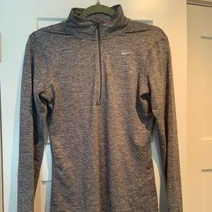 Nike half zip long sleeve